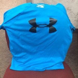 Light Blue under armor shirt
